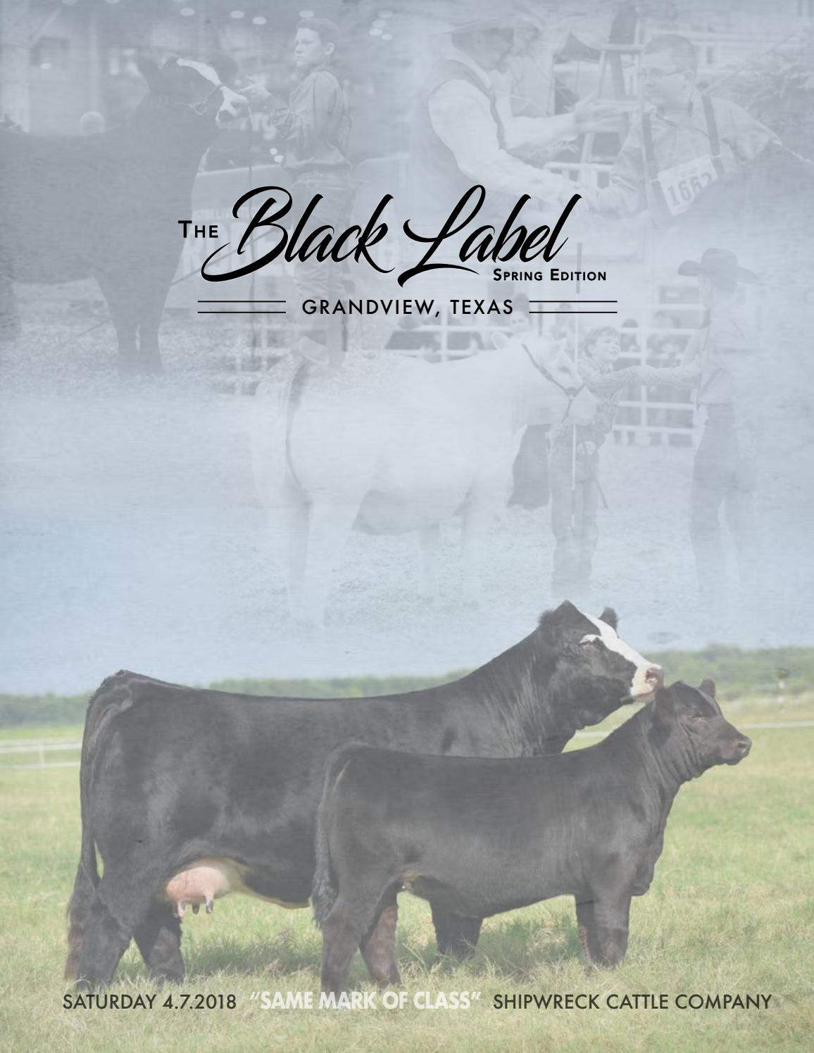 Black Label Spring 2018 by Cattle In Demand - issuu