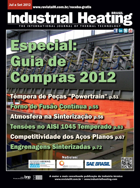 c8a491867fa Revista Industrial Heating - Jul a Set 2012 by SF Editora - issuu