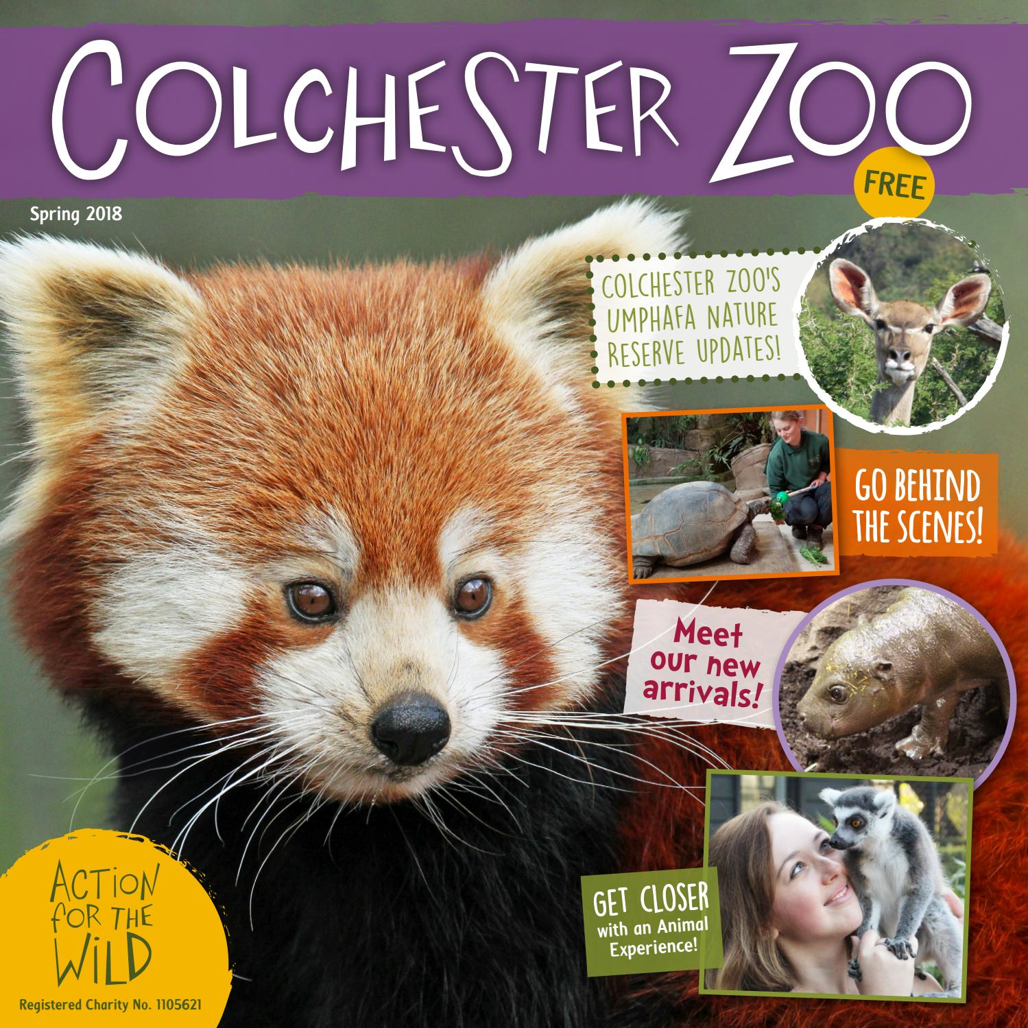 Colchester Zoo Spring Magazine 2018 by Colchester Zoo - issuu