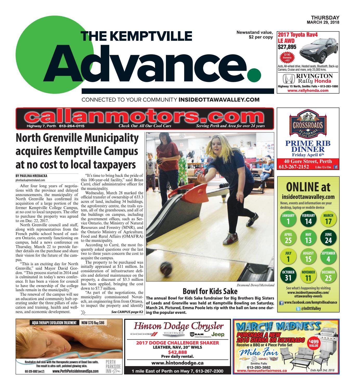 0fb2b67912f3b2 Kemptville032918 by Metroland East - Kemptville Advance - issuu