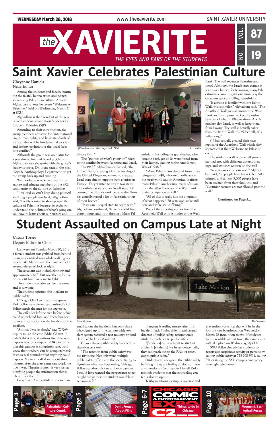 3-28-18 issue by The Xavierite - issuu