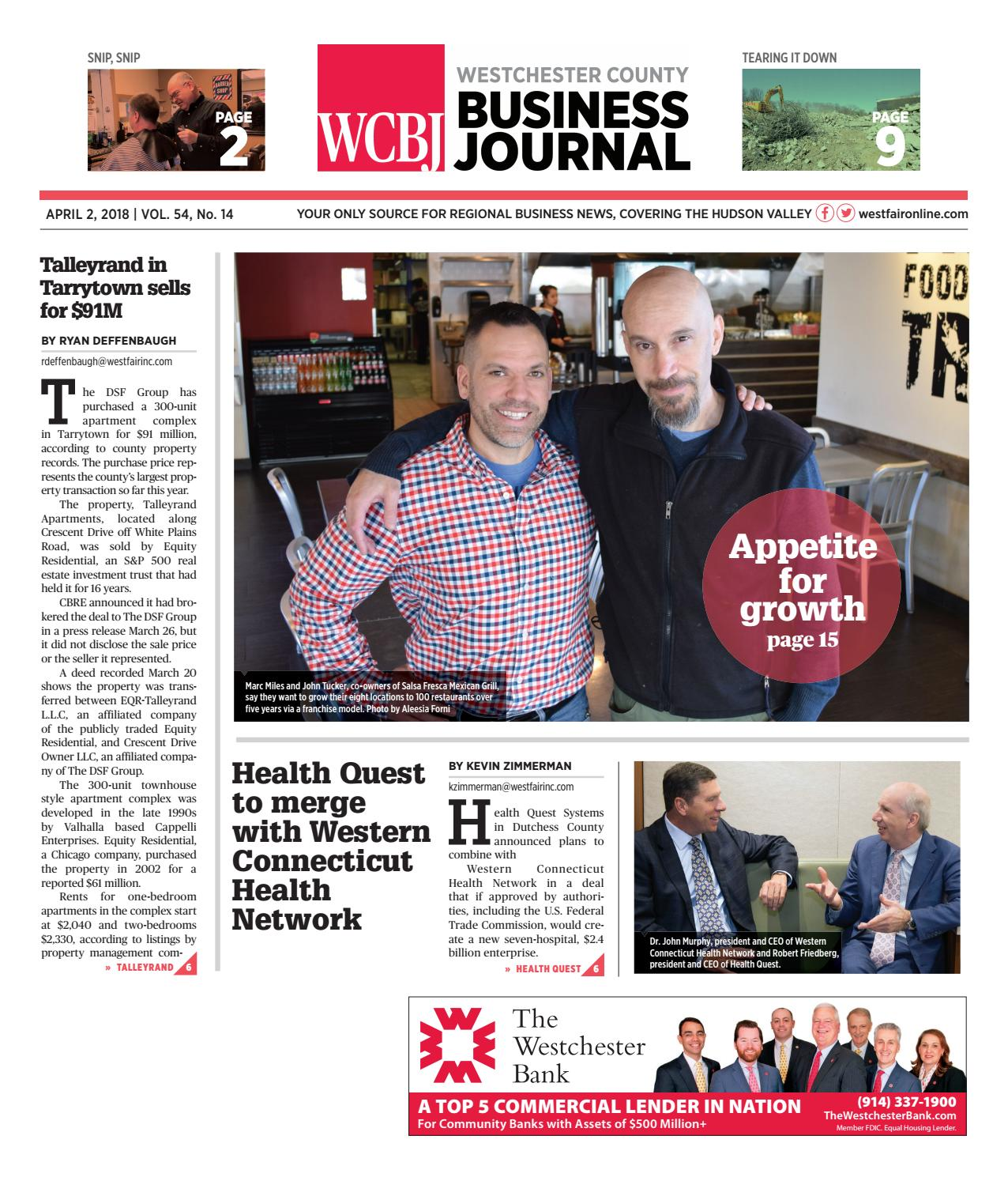 Westchester County Business Journal 040218