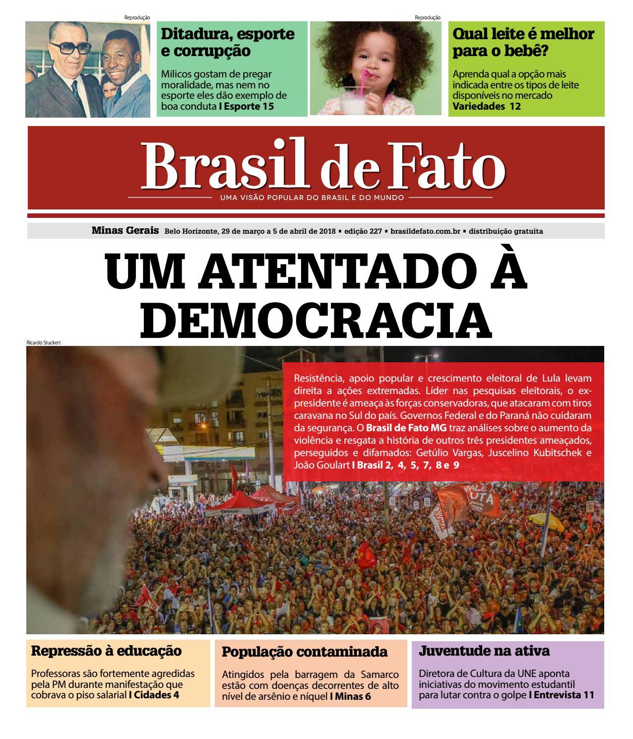 Edição 227 do Brasil de Fato MG by Brasil de Fato MG - issuu 07249bb4f0f6c