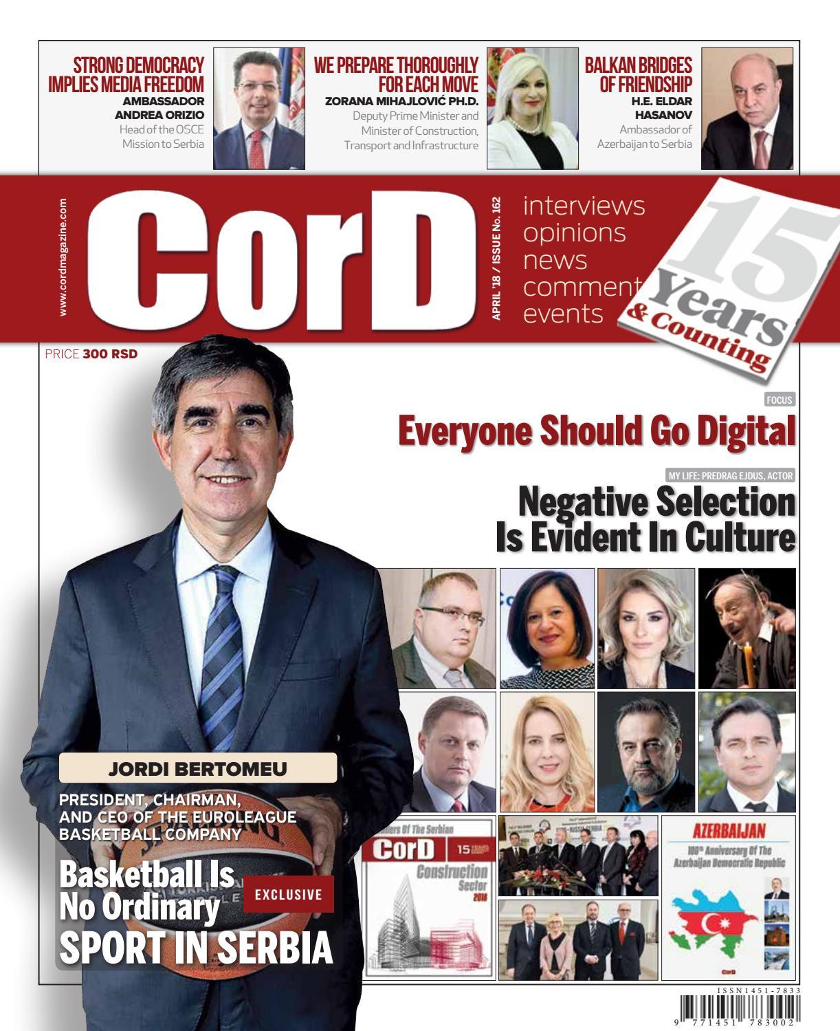 CorD Magazine No  162 by CorD Magazine - issuu