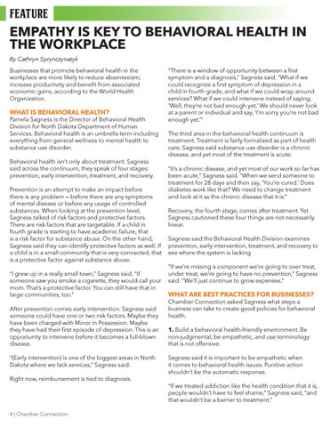 Page 4 of Behavioral Health Best Practices