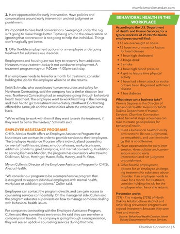 Page 5 of Behavioral Health Best Practices