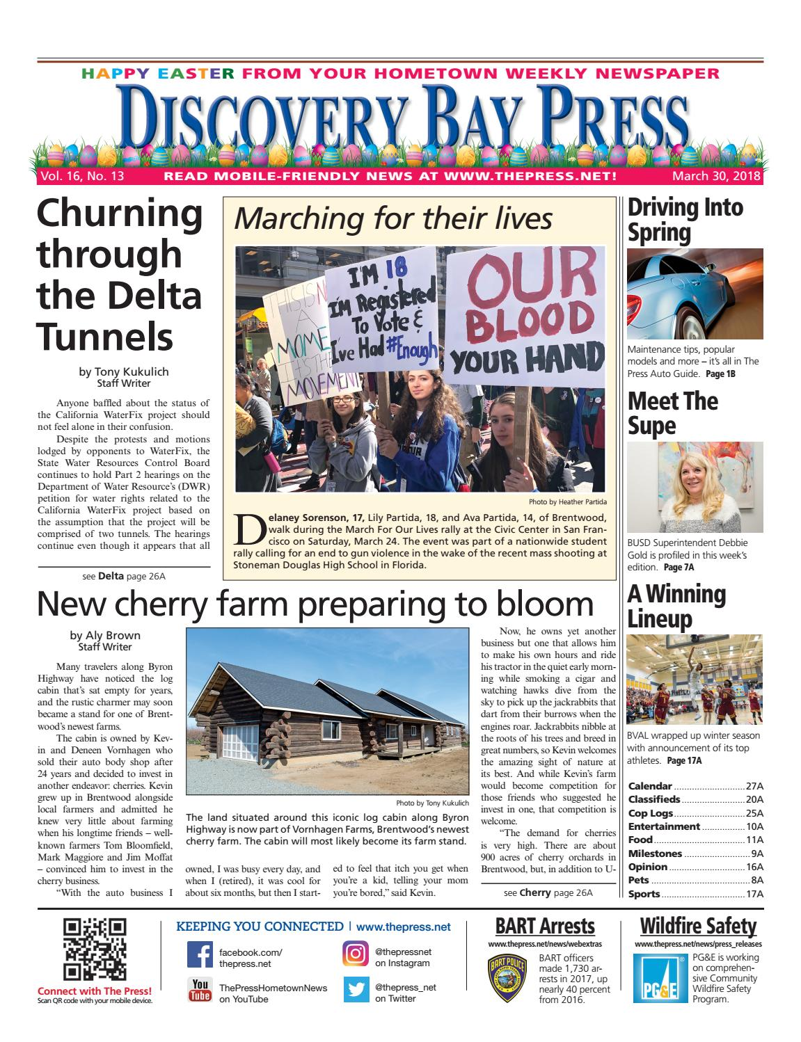 36a502e6c5cb Discovery Bay Press 03.30.18 by Brentwood Press   Publishing - issuu