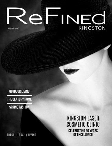 ReFINEd Kingston spring 2018 by Refined Kingston Magazine