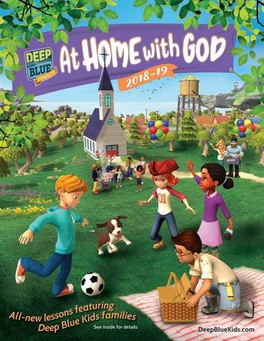 Cokesbury Deep Blue Kids 2018 Catalog by United Methodist