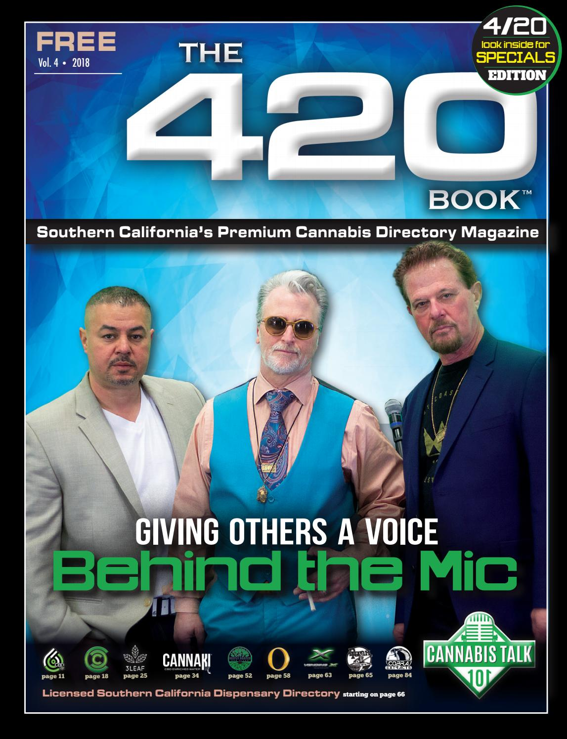 The 420 Book • SOCAL • Vol 4 by The 420 Book - issuu