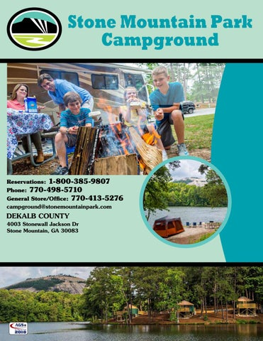 Stone Mountain Park Campground By Ags Texas Advertising Issuu