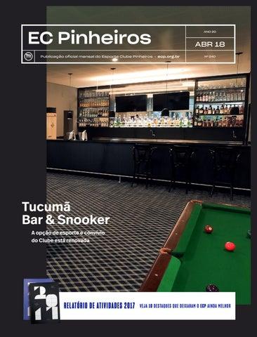 7d9973052 Revista nº 240 de abril de 2018 by Esporte Clube Pinheiros - issuu