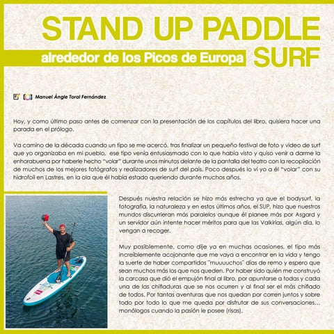 Page 58 of Stand Up Paddle alrededor de los Picos de Europa Up#21 . Up Suping Magazine