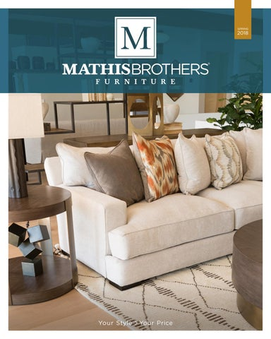 Mathis Brothers 2018 Spring Lookbook By Mathis Brothers Furniture