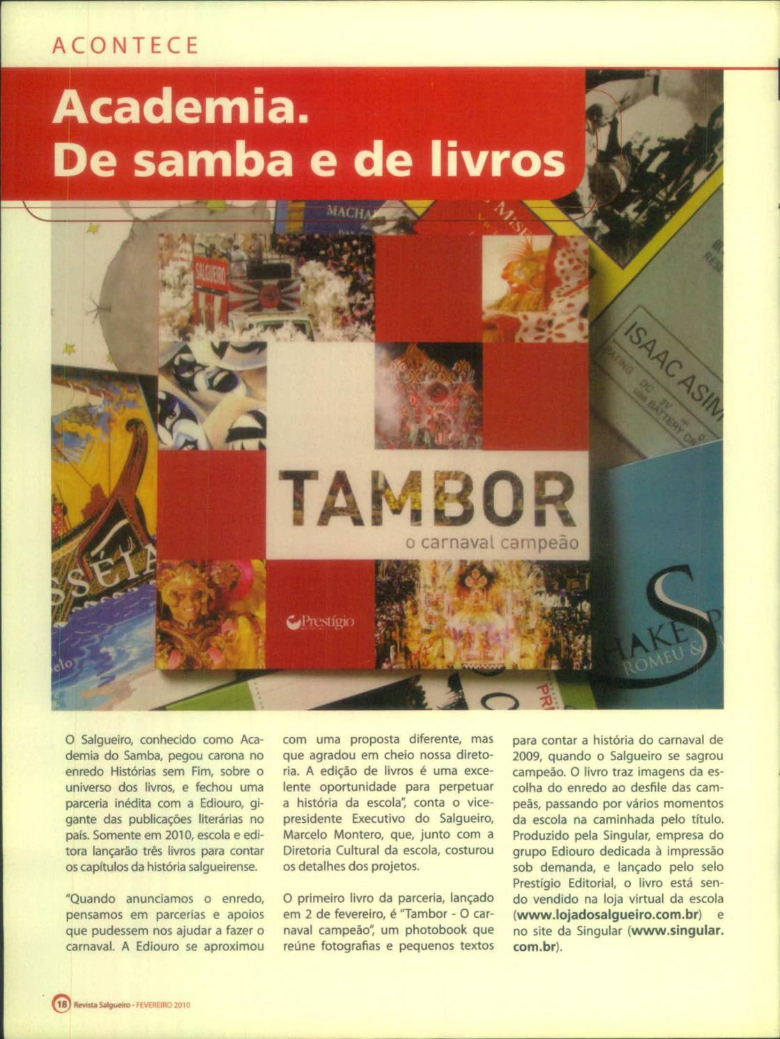2009 BAIXAR SAMBA ENREDO SALGUEIRO