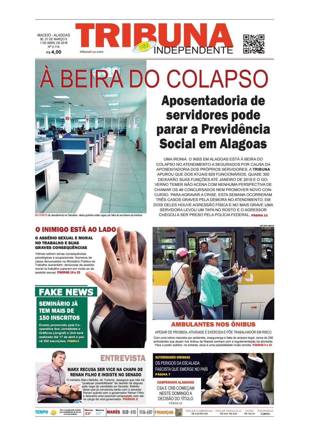 e5481cfdc7e Edição número 3114 - 30 e 31 de março de 2018 by Tribuna Hoje - issuu