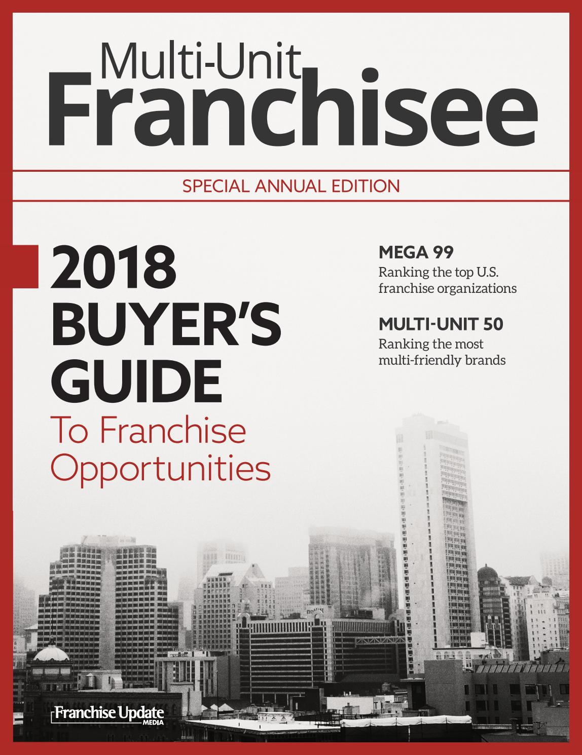 2018 Multi-Unit Franchisee Buyer\'s Guide by Franchise Update Media ...