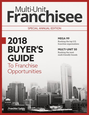 2018 Multi-Unit Franchisee Buyer's Guide by Franchise Update