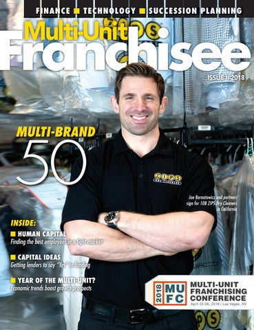 Multi-Unit Franchisee Magazine - Issue II, 2018 by Franchise Update