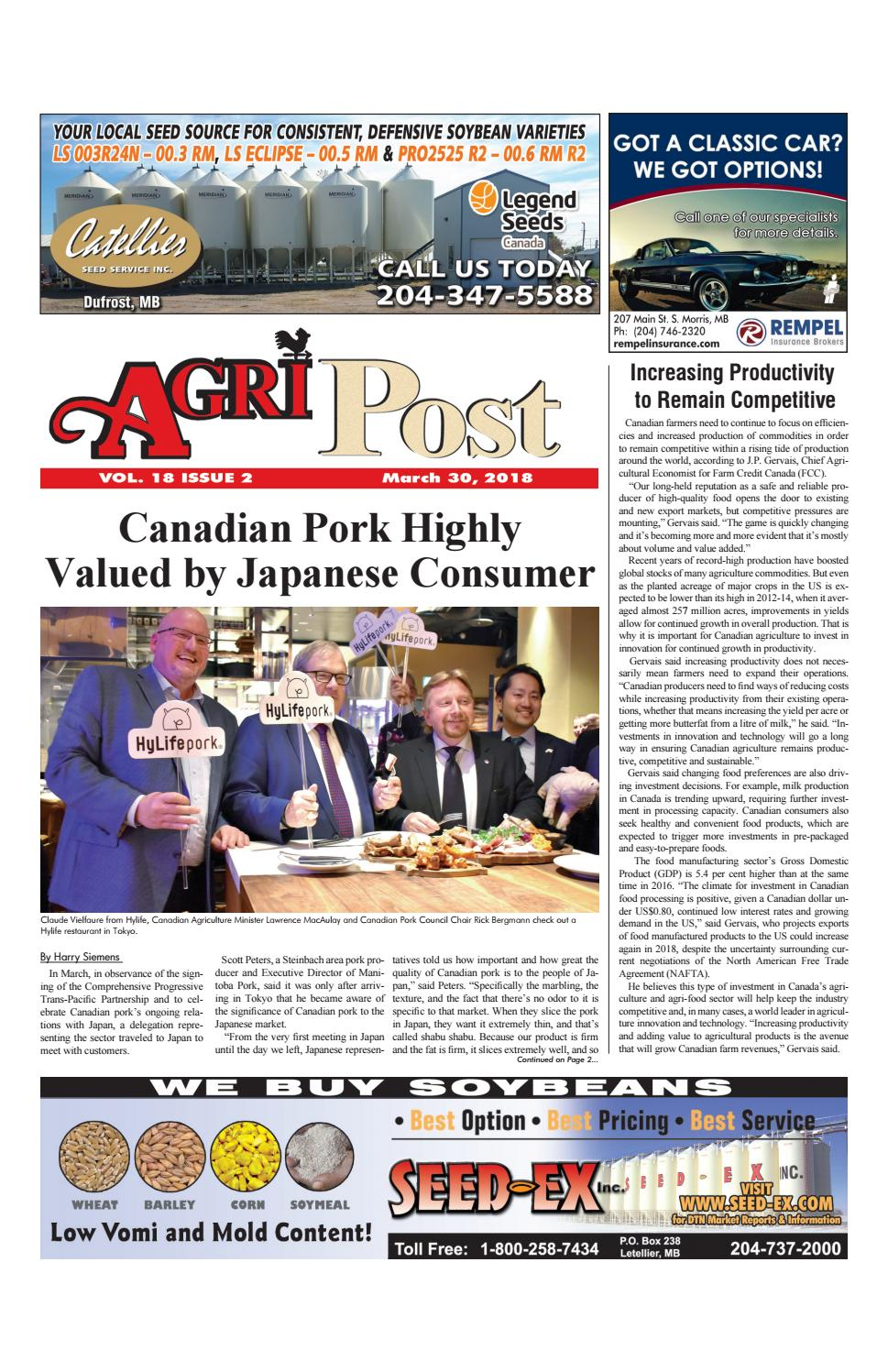 AgriPost March 30 2018 by AgriPost - issuu