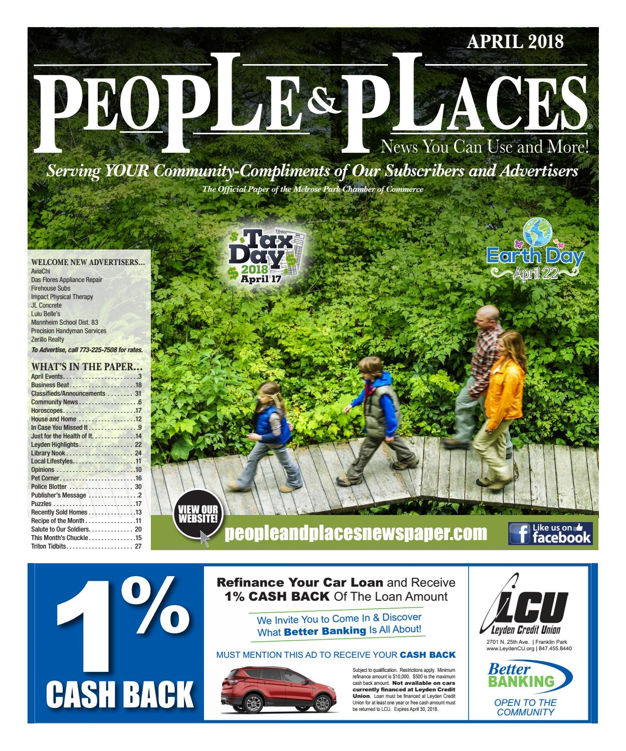 April 2018 People & Places Newspaper by Jennifer Creative - issuu