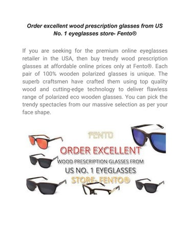 ffd029cc02f3 Order excellent wood prescription glasses from us no by fentoshop ...