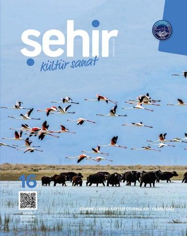 Kayseri Büyükşehir Belediyesi şehir Kültür Sanat Dergisi Nisan 2018