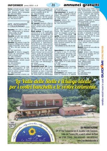 Cerco Materasso Matrimoniale In Regalo.Informer Aprile 2018 By Informer Issuu