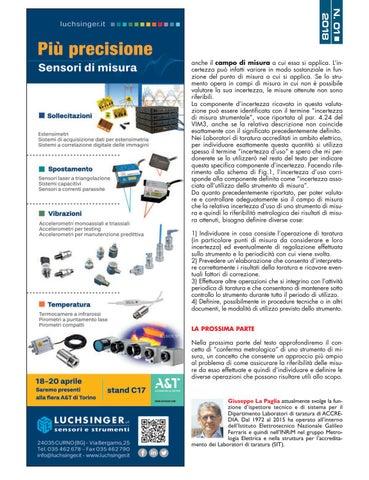 Page 24 of Nuove prospettive per la metrologia - La Metrotronica