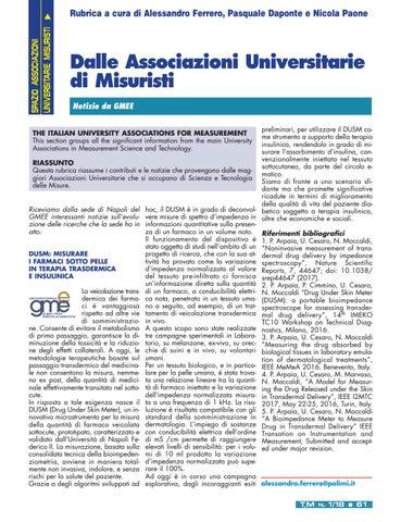 Page 63 of Lo spazio delle Associazioni Universitarie di Misuristi