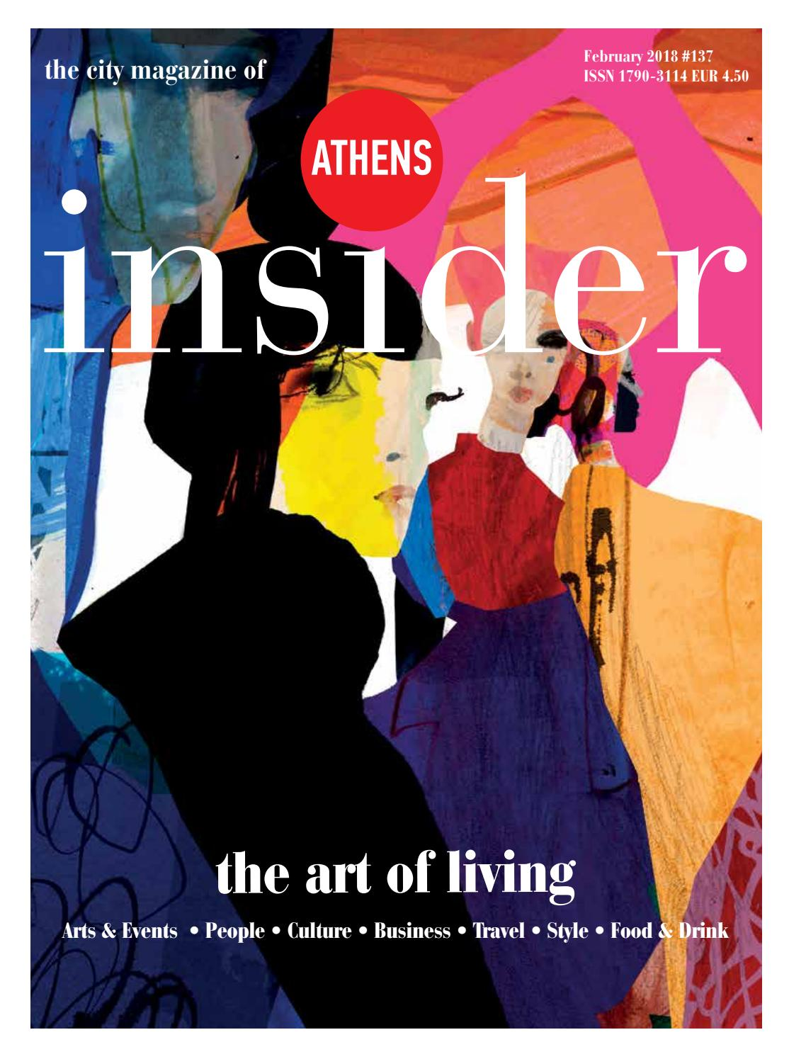 b19e96a17d Athens Insider Winter 2018 issuu by Insider Publications - issuu