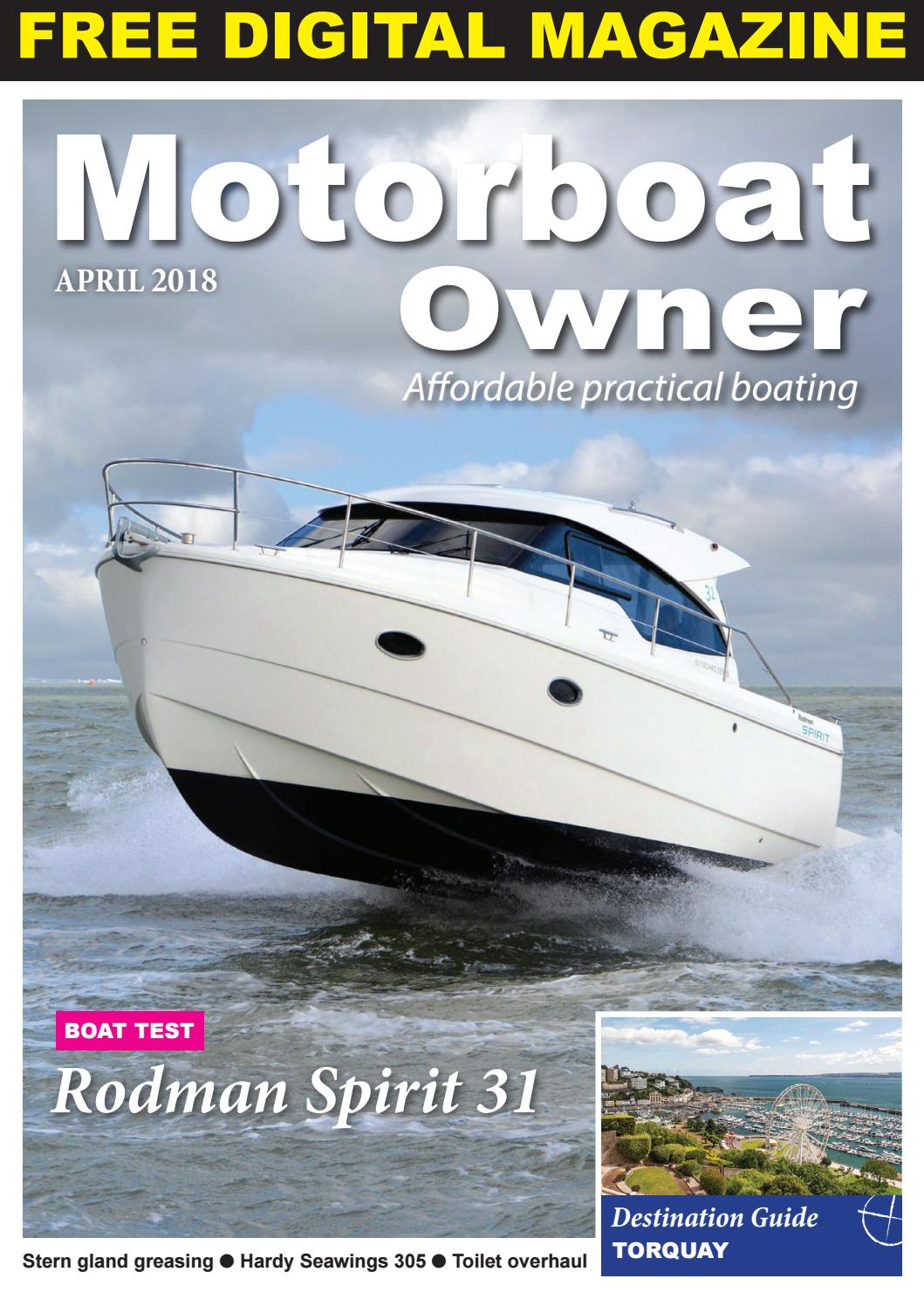 Motorboat Owner April 2018 By Digital Marine Media Ltd Issuu Sea Ray Boat Wiring Diagram Inverter