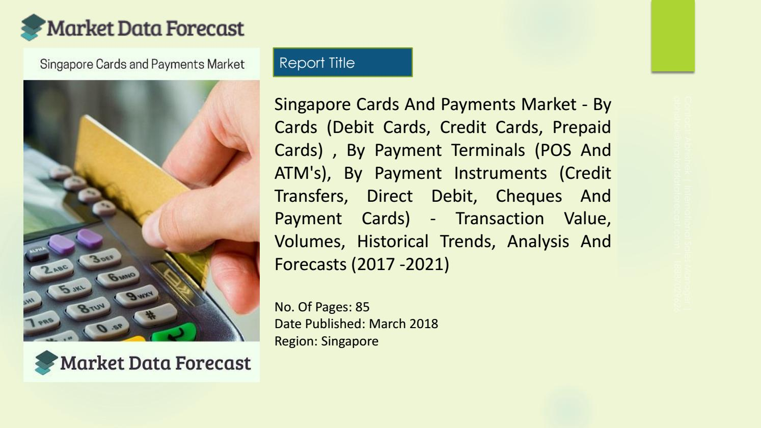 Report on Singapore Credit Card Market Share and Statistics by ...
