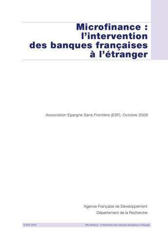 36ce8ca378be2 Microfinance   L intervention des banques françaises à l étranger by ...