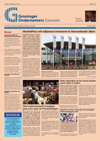 b55ba09d33939f Groninger Ondernemers Courant - November 2017 by Groninger ...