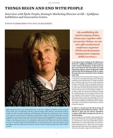 Page 72 of Interview with Špela Terpin, GR Ljubljana Exhibition and Convention Centre