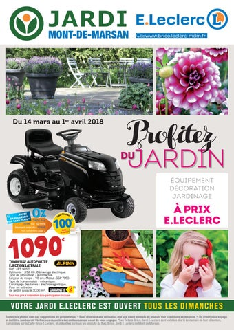 Catalogue Jardi Eleclerc 14 Mars Au 1 Avril By Chou