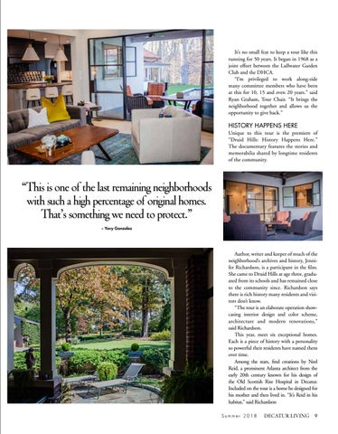 Page 9 of Druid Hills Tour of Homes