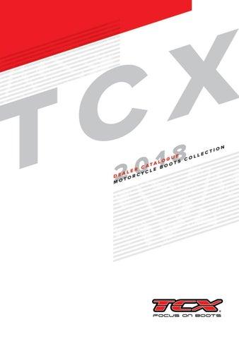 TCX Jupiter 4 GORE-TEX Waterproof Urban Short Motorcycle Bike Boots Black