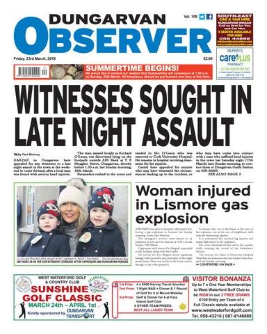 Dungarvan observer 3 4 2015 edition by Dungarvan Observer