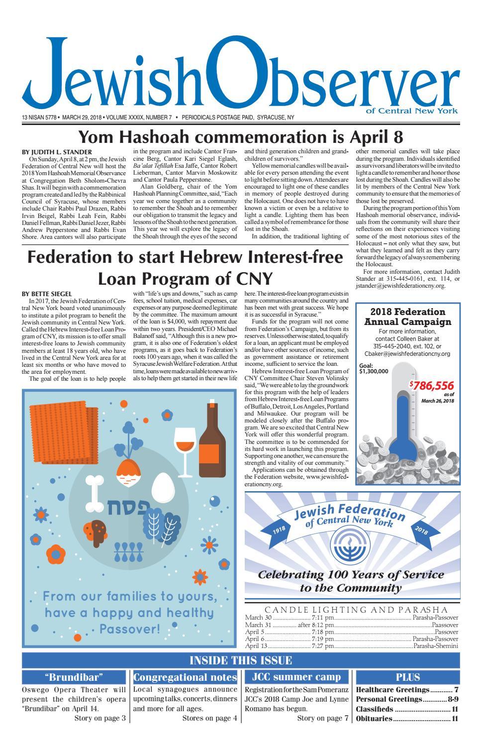 Syr0327 By Jewish Federation Of Cny Issuu