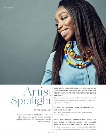 Page 12 of Artist Spotlight: Estelle