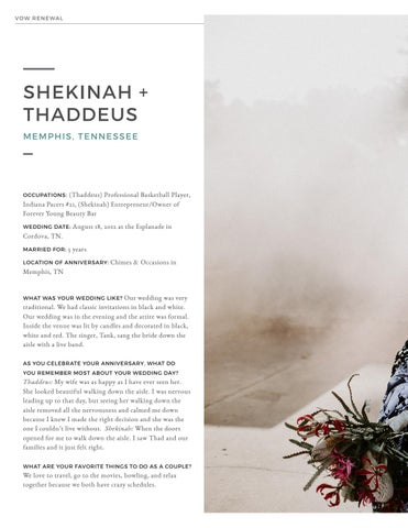 Page 14 of Vow Renewal: Shekinah + Thaddeus