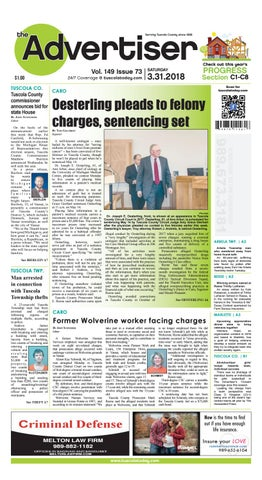 Tca 3 31 18 all pages by Tuscola County Advertiser - issuu