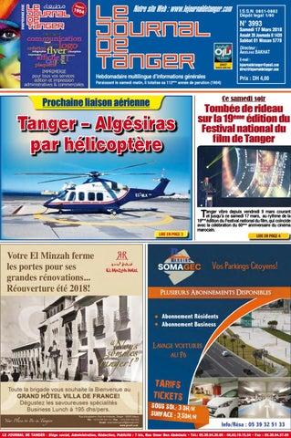 831cea3a8 Le journal de Tanger 17 mars 2018 by Le Journal de Tanger - issuu