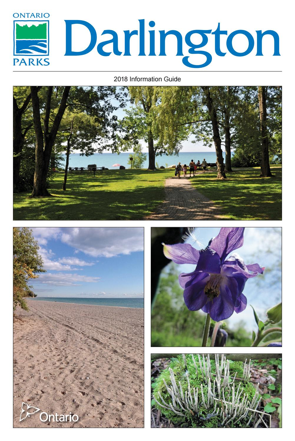Darlington Provincial Park 2018 Information Guide By Willow Top Adult Pants Xl Isi 10 Publishing Issuu