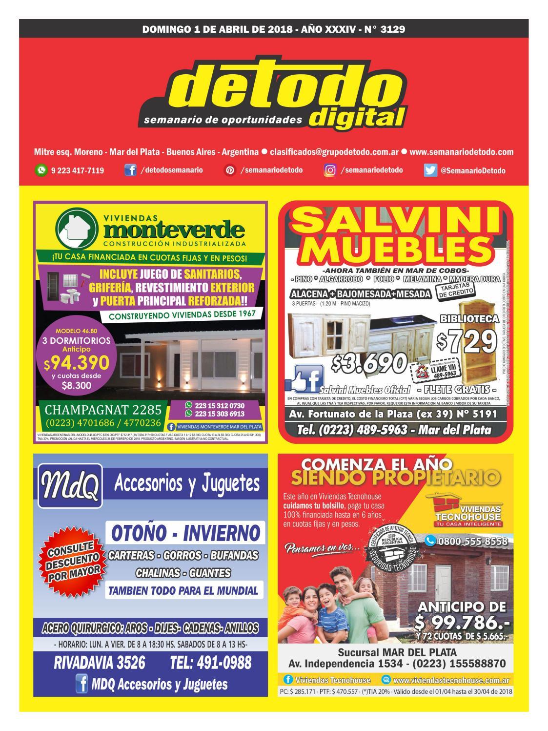 Semanario Detodo Digital - Edición N° 3129 - 01/04/2018 by Semanario Detodo  - issuu