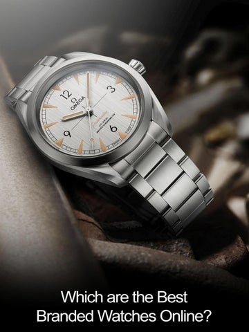 Which Are The Best Branded Watches Online By Prime Retail