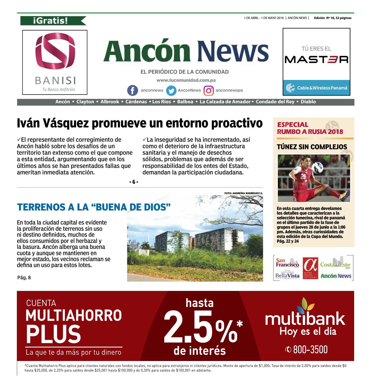 Ancón News by Ancón News - issuu