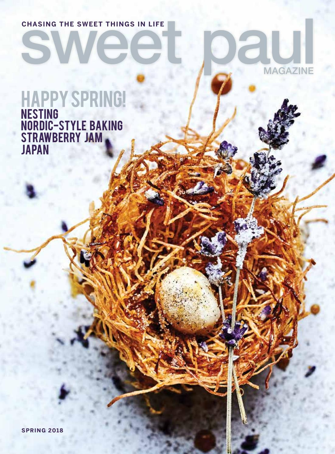 Sweet Paul #32 - Spring 2018 by Sweet Paul Magazine - issuu